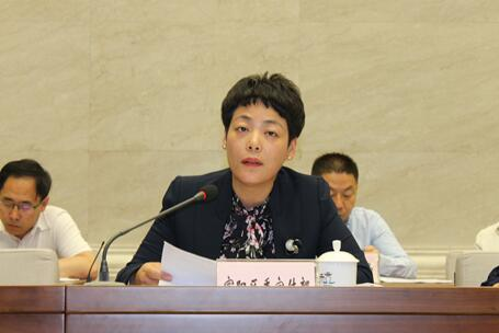 委_富阳区委常委,宣传部长夏芬发言