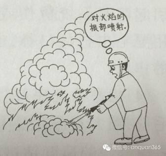 常用灭火方法
