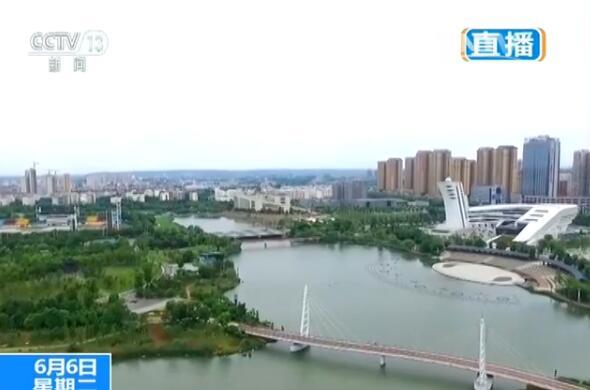 【来之不易的绿水青山】湖南常德:穿紫河换新颜 成为城市碧玉带